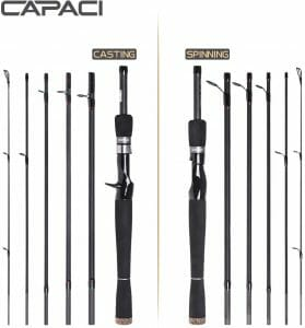 CAPACI Bass Fishing Rod