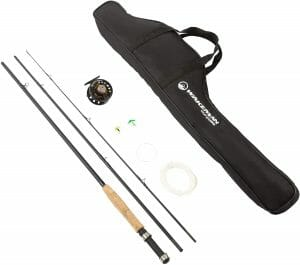 Fly Fishing 8' Fiberglass Rod