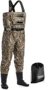 Foxelli High-Quality Breathable Waders
