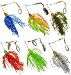 Free Fisher Spinner Baits