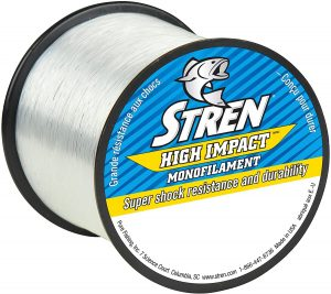High Impact Monofilament Fishing Line by Stren
