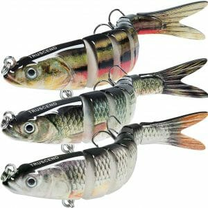 TRUSCEND Bass Trout Fishing Lures Best Largemouth Bass Lures