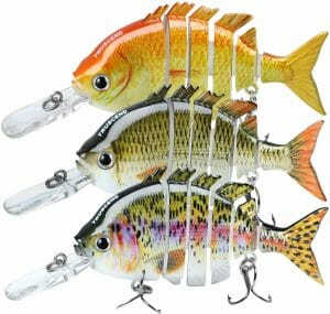 TRUSCEND Fishing Lures For Bass Trout